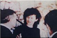 Foto di Vicka con la Madonna